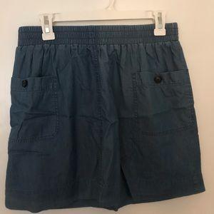 J Crew Chambray Skirt
